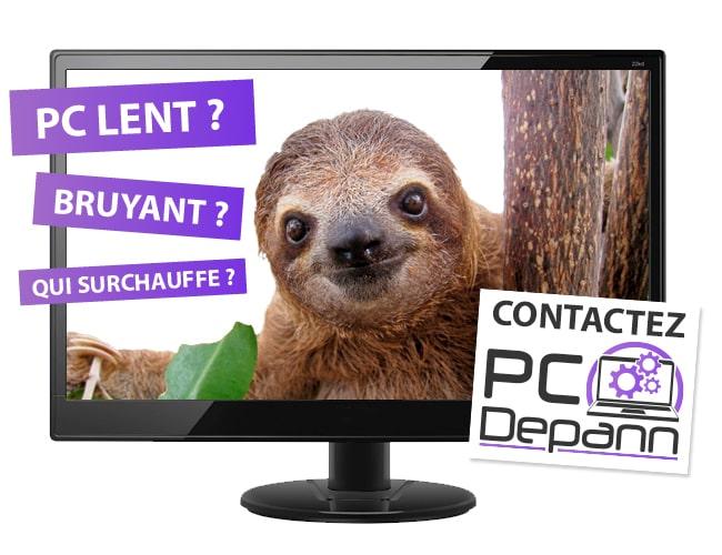 PC lent ? Contactez PC Depann